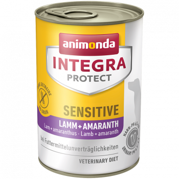 Integra Protect Sensitive jagnięcina z amarantusem puszka 400 g
