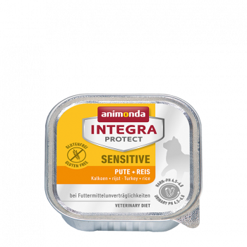 Integra Protect Sensitive indyk z ryżem pasztet 100 g