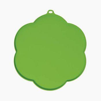 Podkładka pod miski silikonowa zielona 30 cm
