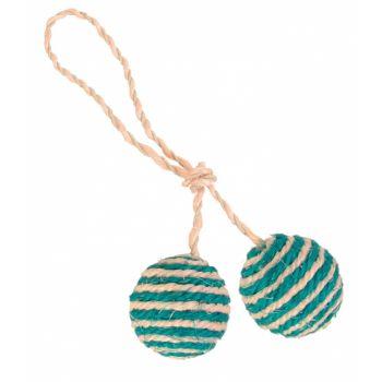 Piłki sizalowe na sznurku
