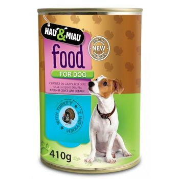 Karma food for dog z indykiem w sosie 410 g