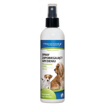 Spray przeciwko obgryzaniu przedmiotów dla psa 200 ml