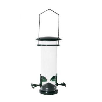 Wiszący karmnik dla ptaków plastikowy 13 x 10 x 22 cm