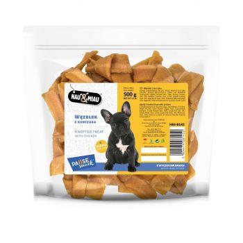 Węzełek z kurczaka przysmak dla psa 500 g