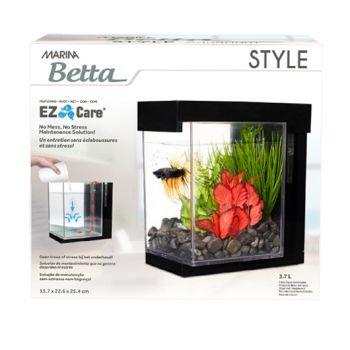 Betta Style Black zestaw dla bojownika 3,7 l
