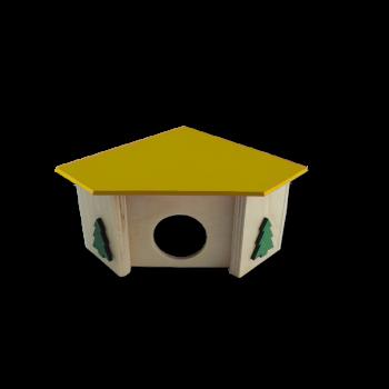 Domek narożny 11x11x7,5 cm