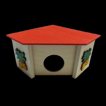 Domek narożny 14,5x14,5x9 cm