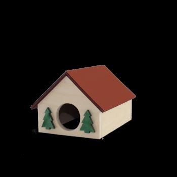 Domek mały 10x8x8 cm