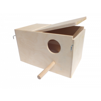 Domek lęgowy dla ptaków 21 x 11,5 x 11,5 cm