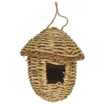Lęgówka dla ptaków z wodorostów 14 x 16 cm