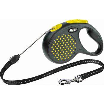 Smycz Design sznurek żółta