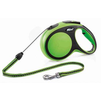 Smycz New Comfort sznurek zielona