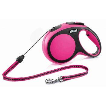 Smycz New Comfort sznurek różowa