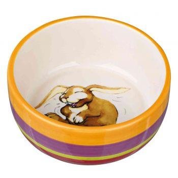 Miska ceramiczna dla królika 11 cm 250 ml