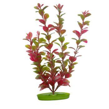 Red Ludwigia sztuczna roślina 38 cm