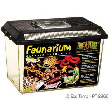 Faunarium plastikowe 30 x 19,5 x 19,5 cm