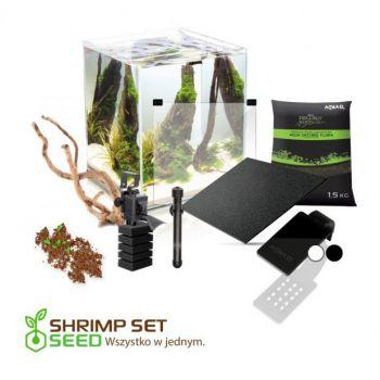Shrimp Set 2 Smart Seed zestaw czarny 30 l
