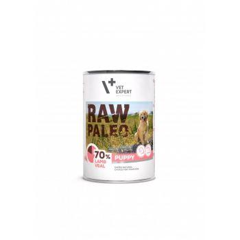 Raw Paleo Puppy karma jagnięcina z cielęciną 400 g