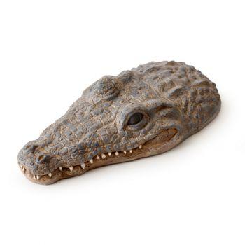 Pływająca wyspa krokodyl