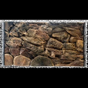 Tło do akwarium lub terrarium skała 100 x 50 cm