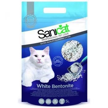 Żwirek bentonitowy biały