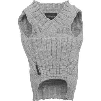 Sweter klasyczny szary