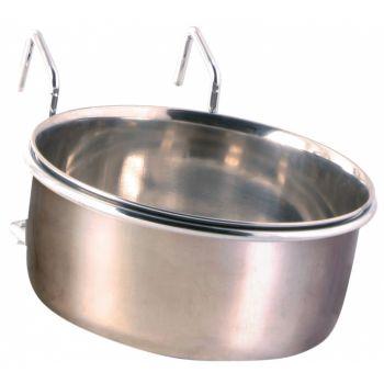 Metalowa miska dla ptaków do zawieszenia