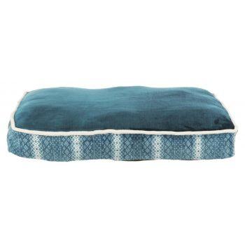 Lumi poduszka prostokątna niebiesko-biała 70 x 50 cm