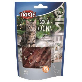 Premio Goose Coins przysmak dla kota z gęsiną 50 g