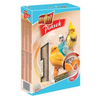 Piasek pomarańczowy dla ptaków 1,5 kg