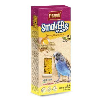 Smakers Snack jajeczny dla papużki falistej 2 szt.