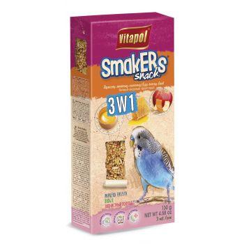 Smakers Snack 3 w 1 dla papużki falistej