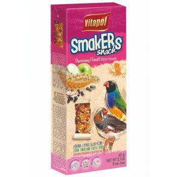 Smakers Snack owocowy dla zeberek i ptaków egzotycznych 2 szt.