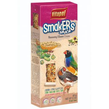 Smakers Snack nasienny dla zeberek i ptaków egzotycznych 2 szt.