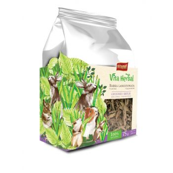 Vita Herbal babka lancetowata dla gryzoni i królików 75 g