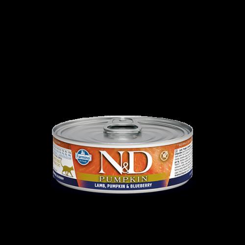 N&D Pumpkin karma mokra z jagnięciną, dynią i borówką 80 g