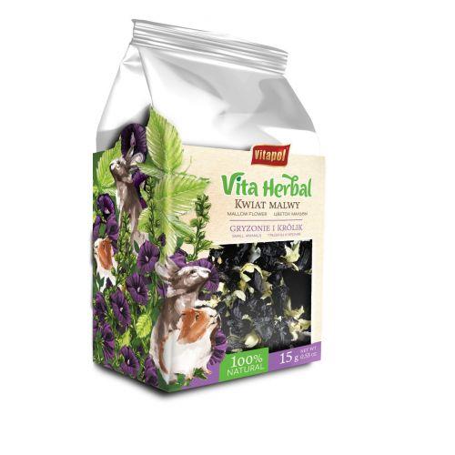 Vita Herbal kwiat malwy dla gryzoni i królika 15 g