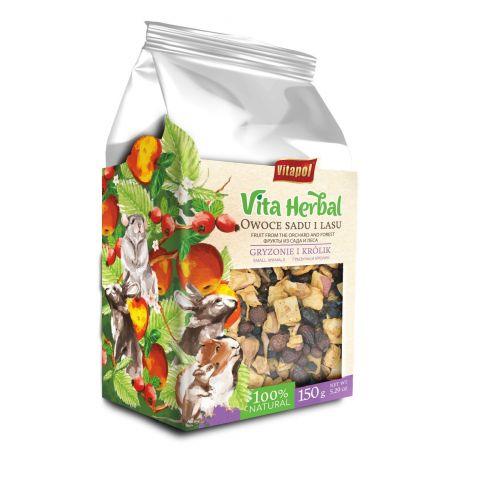 Vita Herbal owoce sadu i lasu suszone dla gryzoni i królików 150 g