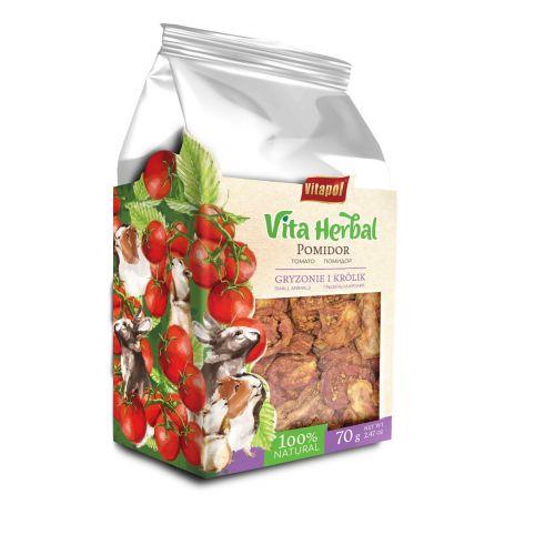 Vita Herbal pomidor suszony dla gryzoni i królików 70 g